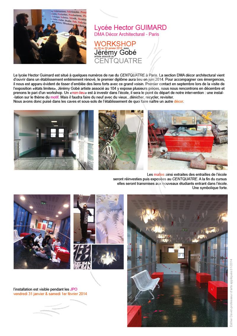 dma d cor architectural hector guimard paris workshop